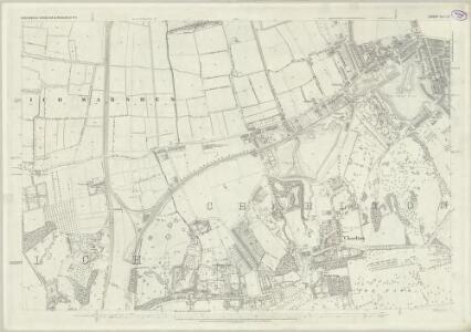 London (First Editions c1850s) LIX (includes: Borough Of Greenwich) - 25 Inch Map