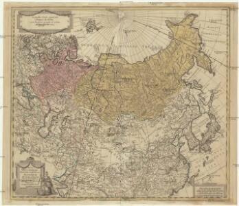 Nova mappa generalis totius orbis amplissimae Russorum monarchiae