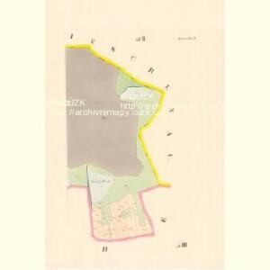 Zahorž - c9060-1-003 - Kaiserpflichtexemplar der Landkarten des stabilen Katasters
