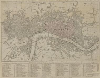 The LONDON DIRECTORY, or a New & Improved PLAN of LONDON,