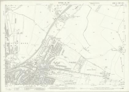 Sussex LXVI.6 (includes: Brighton) - 25 Inch Map