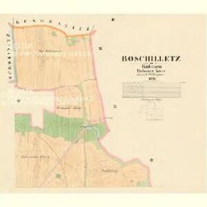 Boschilletz - c0425-1-002 - Kaiserpflichtexemplar der Landkarten des stabilen Katasters