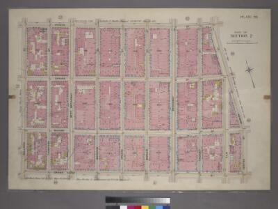 Plate 20, Part of Section 2: [Bounded by Prince Street, Marion Street, Centre Street, Grand Street and Sullivan Street.]