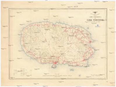 Carta corográfica da Ilha Terceira