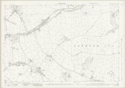 Derbyshire XVIII.13 (includes: Barlow; Brampton; Chesterfield) - 25 Inch Map