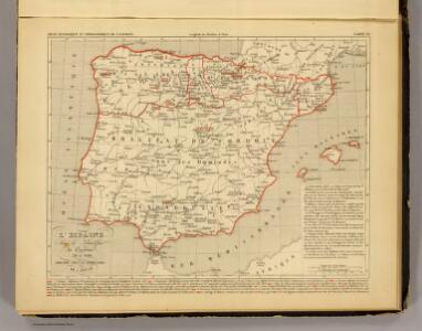 L'Espagne 756 a 1030.