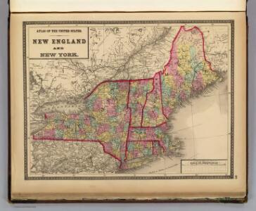 New England and New York.