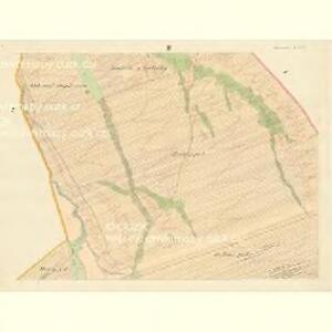 Horniemtsch - m0805-1-002 - Kaiserpflichtexemplar der Landkarten des stabilen Katasters