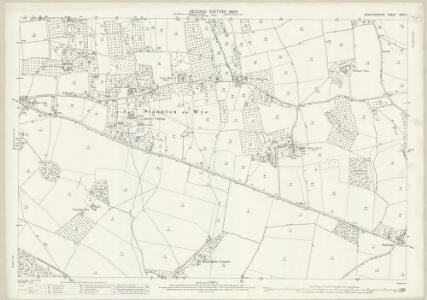 Herefordshire XXXII.2 (includes: Monnington On Wye; Norton Canon; Staunton On Wye) - 25 Inch Map