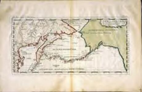 Carte der Entdekvngen zwischen Sibirien und America bis auf das Jahr 1780