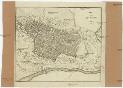 Plan von Augsburg