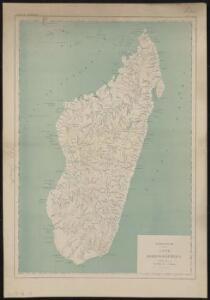 Madagascar, carte hydrographique