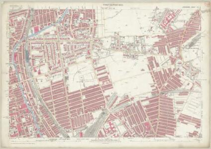 Lancashire CVI.2 (includes: Bootle Cum Linacre; Liverpool) - 25 Inch Map