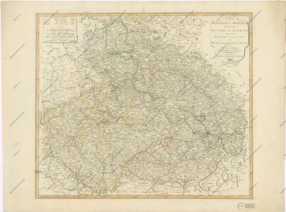 The Kingdom of Bohemia with the Dutchy of Silesia and the Marquisates of Moravia...