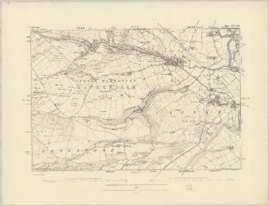 Derbyshire XVI.SW - OS Six-Inch Map