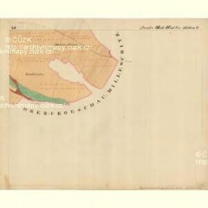 Edenthurn - m3465-1-014 - Kaiserpflichtexemplar der Landkarten des stabilen Katasters