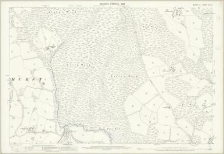 Sussex XLIII.14 (includes: Battle; Penhurst) - 25 Inch Map