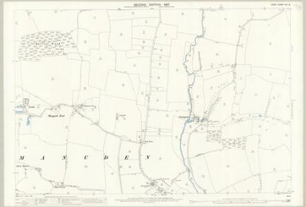 Essex (1st Ed/Rev 1862-96) XIII.15 (includes: Manuden; Ugley) - 25 Inch Map