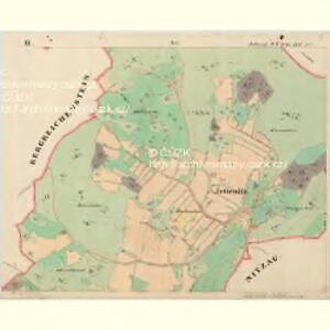 Jettenitz - c6707-1-002 - Kaiserpflichtexemplar der Landkarten des stabilen Katasters