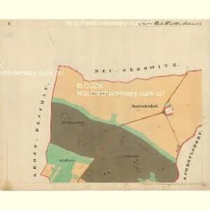 Cwalatitz - m0989-1-001 - Kaiserpflichtexemplar der Landkarten des stabilen Katasters