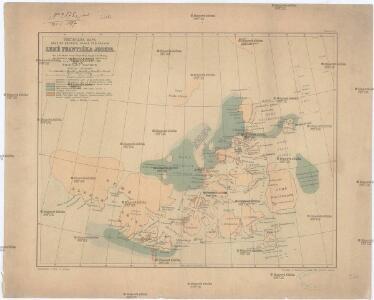 Předběžná mapa skupiny ostrovů, známé pod názvem Země Františka Josefa