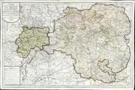 Carte de la généralité de Limoges et des evechées de Limoges, Tulle, Angoulême