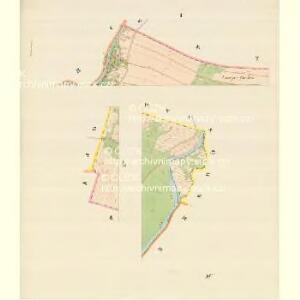 Weikersdorf (Wigyrowice) - m3401-1-001 - Kaiserpflichtexemplar der Landkarten des stabilen Katasters