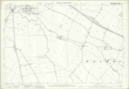 Gloucestershire VII.3 (includes: Aston Subedge; Church Honeybourne; Cow Honeybourne; Weston Subedge) - 25 Inch Map