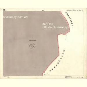 Mitterberg - c6304-2-003 - Kaiserpflichtexemplar der Landkarten des stabilen Katasters