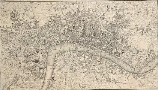 A NEW and Correct PLAN OF THE CITIES AND SUBURBS OF LONDON & WESTMINSTER & BOROUGH OF SOUTHWARK with the COUNTRY adjacent, the NEW BUILDINGS, ROADS &c. to the Year 1766