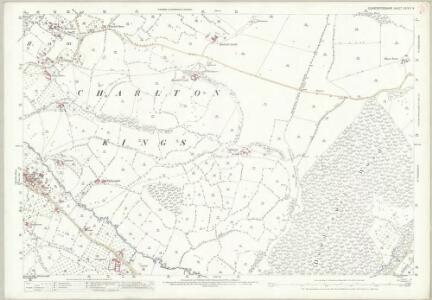 Gloucestershire XXVII.9 (includes: Charlton Kings; Dowdeswell; Whittington) - 25 Inch Map