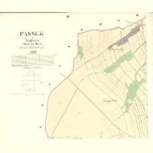 Passek - m2230-1-003 - Kaiserpflichtexemplar der Landkarten des stabilen Katasters