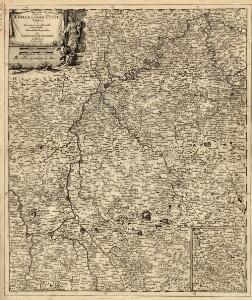 Exactissima Totius Mosellae et Sarae Fluvii Tabula et Minorum in eum influentisim Cum Omnibus Adiacentibus Regionibus