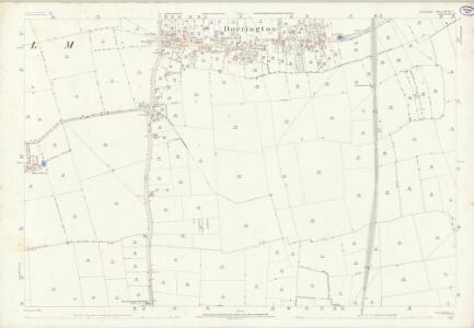 Lincolnshire XCVII.7 (includes: Ashby De La Launde and Bloxholm; Dorrington; Ruskington) - 25 Inch Map