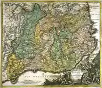 Principatus Cataloniæ nec non comitatuum Ruscinonensis et Cerretaniæ nova tabula